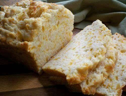 Savory Cheesy Beer Bread