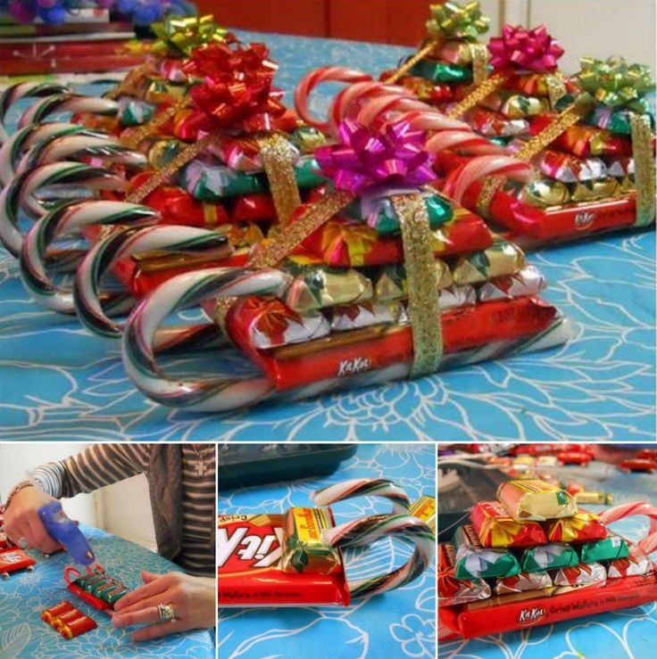 candy christmas sleighs - Candy Sleighs For Christmas