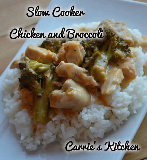 Slow Cooker Chicken and Broccoli